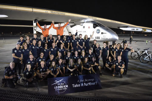 Actu Team Solar Impulse